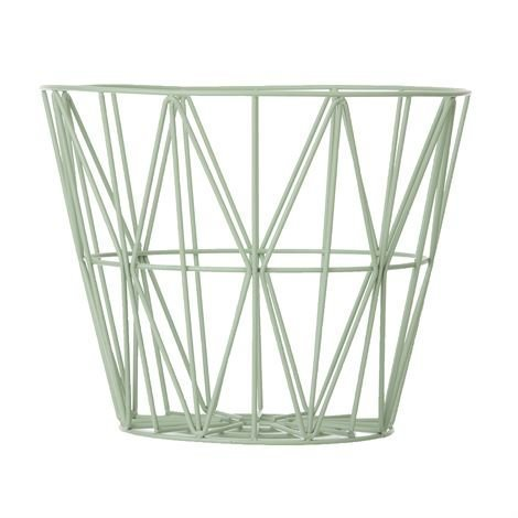 Ferm Living Wire Kori Minttu Medium 50x40 cm