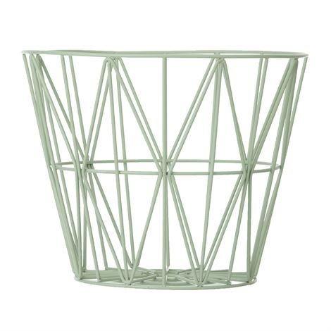 Ferm Living Wire Kori Minttu Pieni 40x35 cm