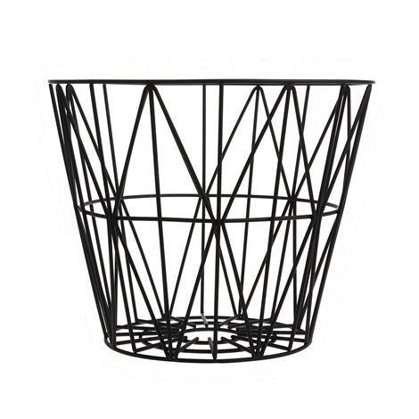 Ferm Living Wire Kori Musta Keskikokoinen 50 x 40 cm