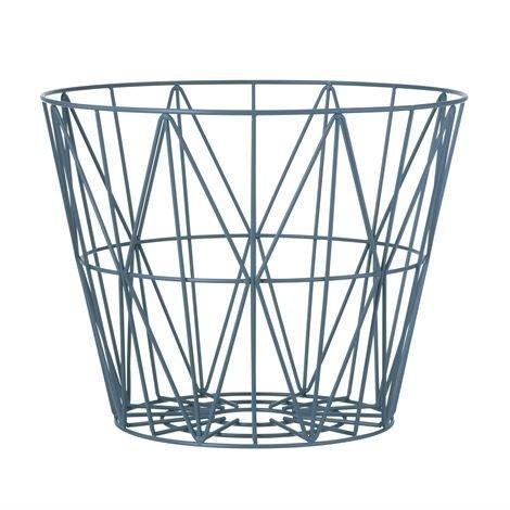 Ferm Living Wire Kori Petrooli Pieni 40x35 cm
