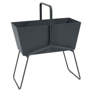 Fermob Basket Istutusruukku High Anthracite
