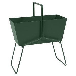 Fermob Basket Istutusruukku High Cedar Green