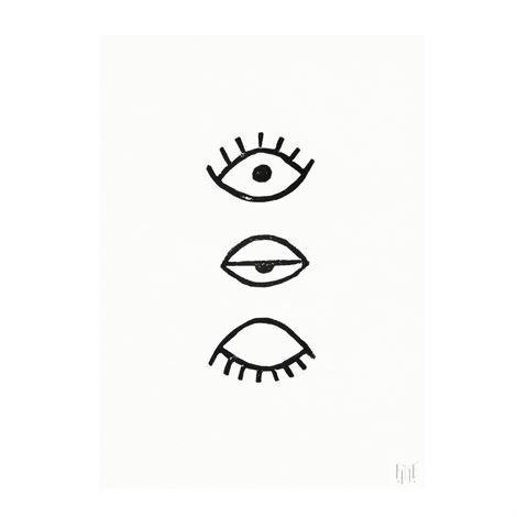 Fine Little Day Eye Eye Juliste 50x70 cm