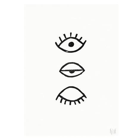 Fine Little Day Eye Eye Juliste 70x100 cm