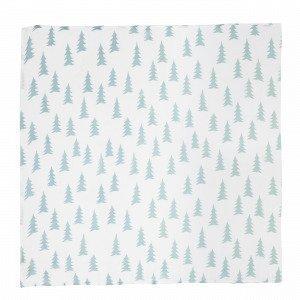 Fine Little Day Gran Muslin Blanket Musliinihuopa Sininen 120x120 Cm