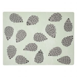 Fine Little Day Hedgehog Placemat Pöytätabletti Beige 30x40 Cm