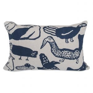 Fine Little Day Tori Mixed Cushion Cover Koristetyynynpäällinen Sininen 38x58 Cm