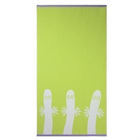 Finlayson Hattivatit Pyyheliina Lime 70x140 cm