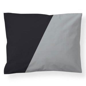 Finlayson Heron Tyynynpäällinen Musta / Harmaa 50x60 Cm
