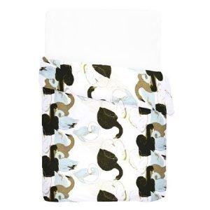 Finlayson Uskolliset parivuoteen satiinipussilakana 240 x 210 cm beige