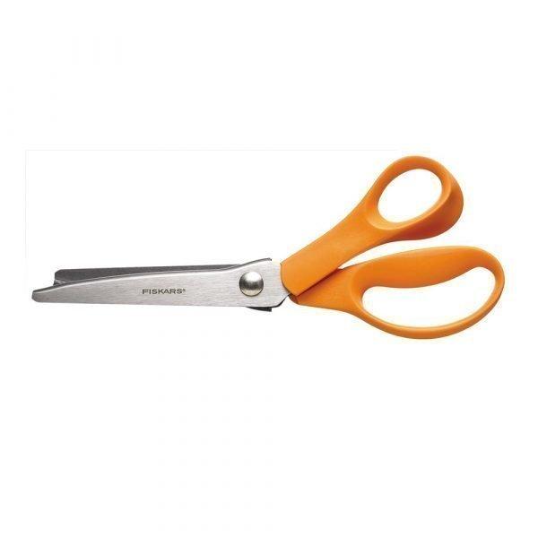 Fiskars Classic Siksak Sakset Oranssi 23 Cm