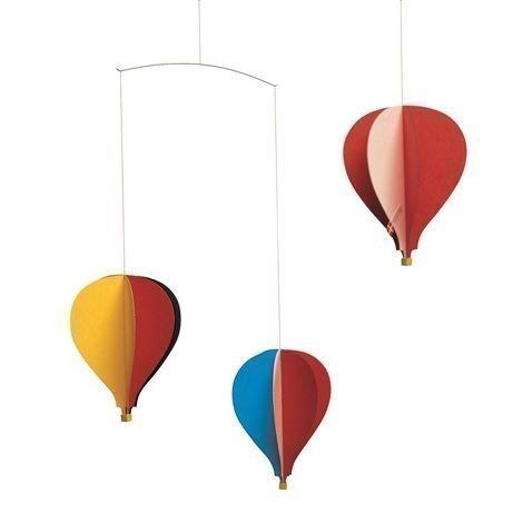 Flensted Mobiles Balloon 3 Mobile Monivärinen