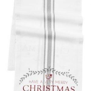 Fondaco Kaitaliina Christmas Valkoinen