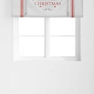 Fondaco Laskosverho Christmas Harmaa