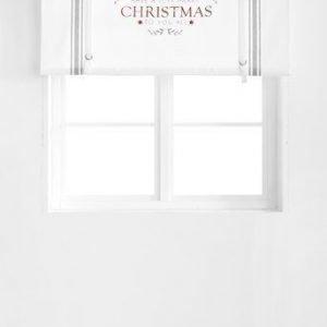 Fondaco Laskosverho Christmas Valkoinen