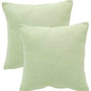 Fondaco Tyynynpäällinen Dave 2-Pakkaus Vaaleanvihreä