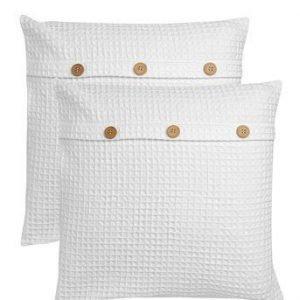 Fondaco Tyynynpäällinen Jill 2-Pakkaus Valkoinen