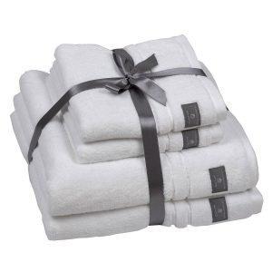 Gant Home Gant Pyyheliina Valkoinen 4-Pakkaus