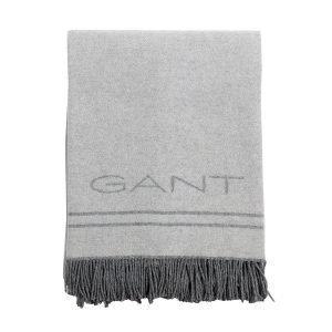 Gant Home Haven Viltti Vaaleanharmaa 130x180 Cm