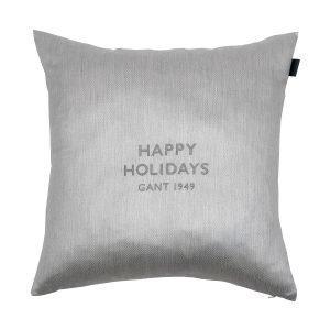 Gant Home Holiday Tyynynpäällinen Harmaa 50x50 Cm