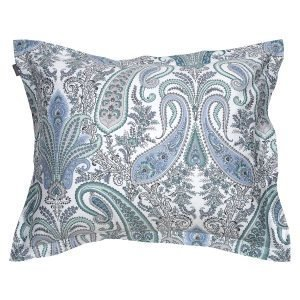 Gant Home Key West Paisley Tyynyliina Aquifer Green 60x50 Cm