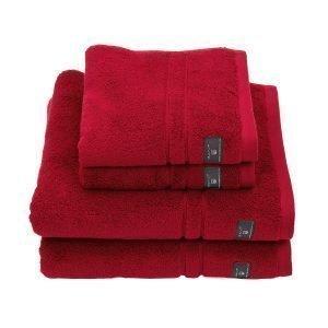 Gant Home Premium Terry Pyyheliina Tummanpunainen 70x140 Cm