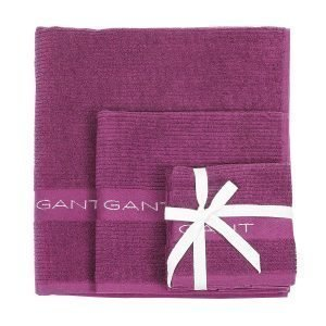 Gant Home Promotion Pyyheliina Magenta Purple 50x70 Cm