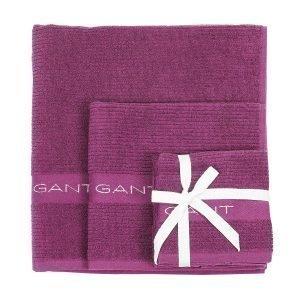 Gant Home Promotion Pyyheliina Magenta Purple 50x70 Cm