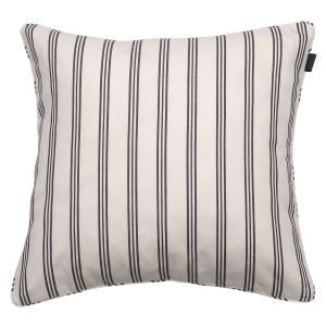 Gant Home Rig Stripe Tyynynpäällinen Elephant Grey 50x50 Cm