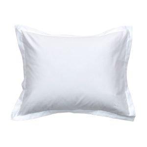 Gant Home Sateen Tyynyliina Valkoinen 60x50 Cm