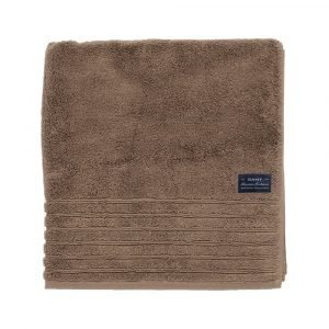 Gant Home Solid Terry Pyyheliina Mid Brown 140x70 Cm
