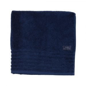 Gant Home Solid Terry Pyyheliina Navy 50x30 Cm