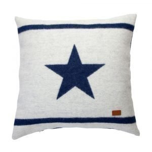 Gant Home Wool Star Tyynyliina Midnight Blue 65x65 Cm