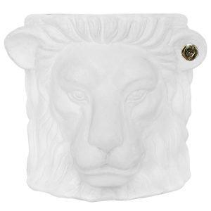 Garden Glory Lion Pot Ruukku S Valkoinen