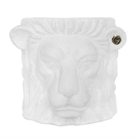 Garden Glory Lion Ruukku Valkoinen