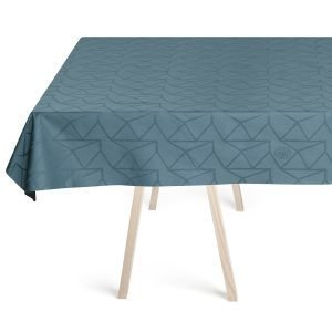 Georg Jensen Damask Arne Jacobsen Pöytäliina Dusty Blue 150x310 Cm