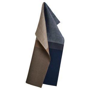 Georg Jensen Damask Colourblock Keittiöpyyhe Deep Blue 50x80 Cm