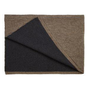 Georg Jensen Damask Flecked Huopa Brown / Dark Grey 120x180 Cm