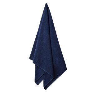 Georg Jensen Damask Terry Pyyheliina Navy Blue 70x140 Cm