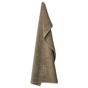 Georg Jensen Damask Terry Vieraspyyhe Walnut 40x70 Cm