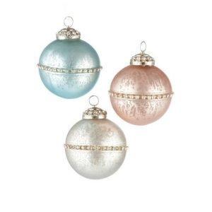 Glimma Joulukuusenkoristeet 3 Kpl Monivärinen