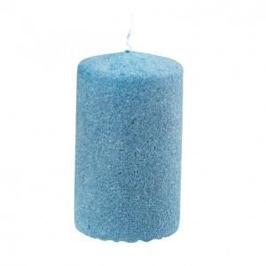 Glitter Pöytäkynttilä Sininen 70x120mm
