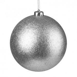 Glitter Pallo Hopea 15 Cm 2 Kpl