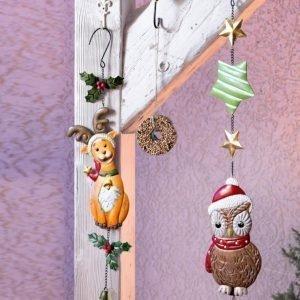 Goebel Joulukoriste Pöllö Ruskea