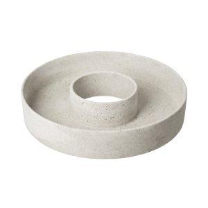 Granit Istutuslautanen Hiekkakivi Valkoinen