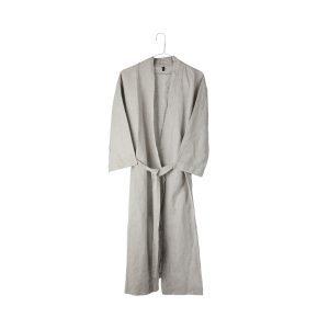 Granit Kimono Beige Bomull / Linne