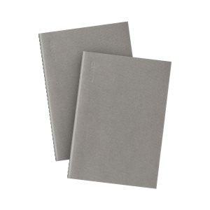 Granit Muistivihko A5 Harmaa 2-Pakkaus
