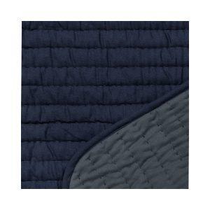 Granit Päiväpeitto Tikattu Sininen 240x150 Cm