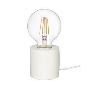Granit Pöytälamppu Terrakotta Valkoinen