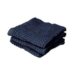 Granit Pyyhe Puuvilla Sininen 3-Pakkaus